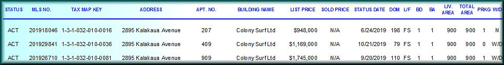 Colony Surf