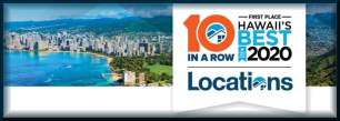 Voted Best Hawaii Real Estate Company 10 Years in a Row